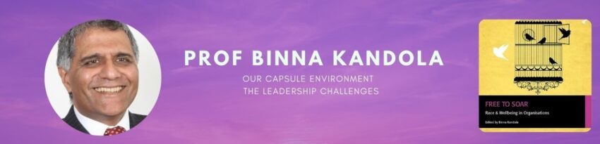 Prof Binna Kandola -Our Capsule environment